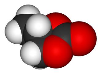 Propylene carbonate - Image: Propylene carbonate 3D vd W
