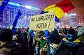 Protest against corruption - Bucharest 2017 - Piata Victoriei.jpg