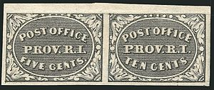 Se-tenant (philately) - Image: Prov RI