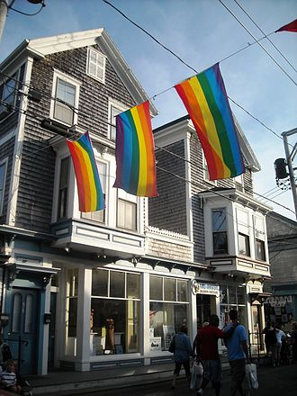 Provincetown, Massachusetts - Provincetown, Commercial Street