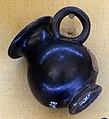 Pruduzione etrusca, vasetto a vernice nera, III-II sec ac. 01.JPG