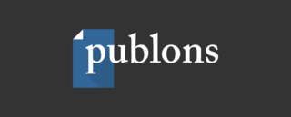 Publons Website for researchers to share and receive credit for peer review activity