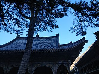 Puhua Temple - Image: Puhua Temple in Mount Wutai, picture 2