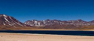 Cordón de Puntas Negras mountain in Chile