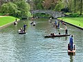 Punting near King's bridge, Cambridge - geograph.org.uk - 1062039.jpg