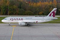 A7-AHH - A320 - Qatar Airways