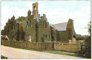 Quarr Abbey - Former Quarr Abbey House, c. 1910