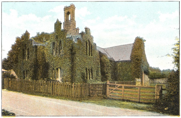 Quarr Abbey c1910 - Project Gutenberg eText 17296