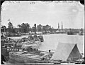 Quartermaster's barges on the Pamunkey River, 1864 (4167067248).jpg