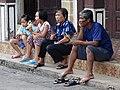 Quartet on Street - Walking Street Market on Th Talad Gao - Lampang - Thailand (34371358284).jpg