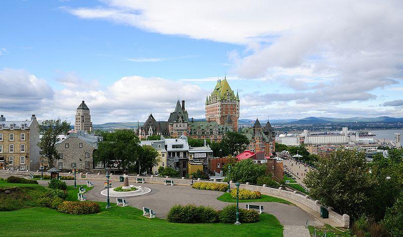 Fichier:Quebec - QC - Blick auf die Altstadt2.jpg