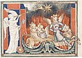 Queen Mary Apocalypse - BL Royal MS 19 B XV f. 15v Locusts.jpg