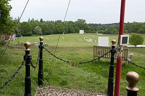 Puttenham, Surrey - The site of Queen Victoria's review in 1858.