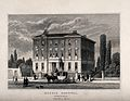 Queens hospital, Birmingham. Etching. Wellcome V0012229.jpg