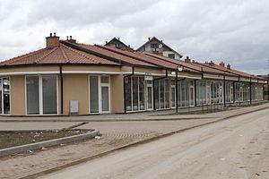 Podujevo - Marketplace of the city.