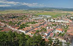 Râşnov (Barcarozsnyó, Rosenau) - view from castle 01.jpg