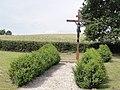 Résigny (Aisne) croix de chemin, rue du calvaire.JPG