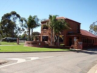 RAAF Base Wagga airport in Australia