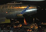 RB-47 and F102, National Museum of the US Air Force, Dayton, Ohio, USA. (46476203641).jpg