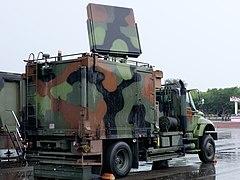 ROCA Point Defense Array Radar System Truck Display at Chengkungling Ground 20150606c.1.jpg