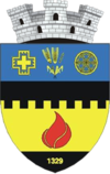 Coat of arms of Sărmașu