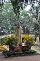 Rabindranath Tagore Statue - K P Krishnakumar - Amar Kutir Complext - Ballavpur - Birbhum 2014-06-29 5644.JPG