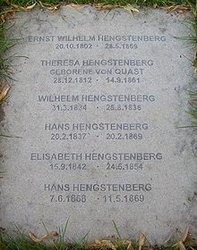 E W Hengstenberg