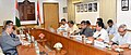 Radha Mohan Singh and the Minister of Agriculture, Rural Development and Environment, Cyprus, Mr. Nicos Kouyialis signed the Work Plan for 2017–18 in the Agriculture Sector between India and Cyprus, at a bilateral meeting.jpg