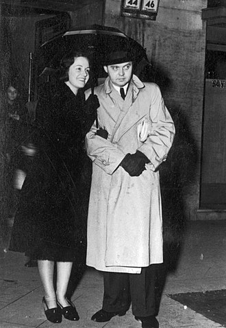 Géza von Radványi - Radványi and his wife Maria von Tasnády