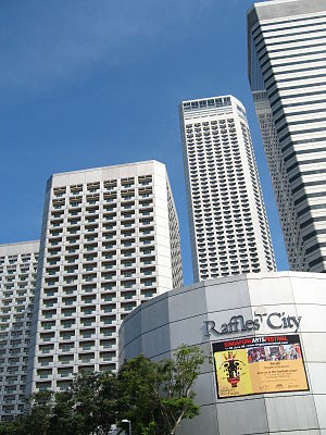 Raffles City - Image: Raffles City development 2