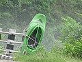 Rafting boat on road.jpg