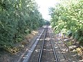 Railway line heading for Hamble Station - geograph.org.uk - 1464611.jpg