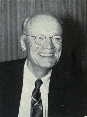 Ralph A. Sawyer - Sawyer from the 1961 Michiganensian
