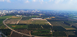 Aerial view of Ramat HaSharon