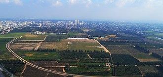 Ramat HaSharon - Aerial view of Ramat HaSharon