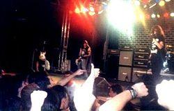 Show dos Ramones em Mogi Das Cruzes, São Paulo, em 1996.
