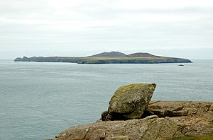 Ramsey Island - Ramsey Island viewed from St David's Head