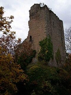 Château de Ramstein (Bas-Rhin) castle in Scherwiller, Grand Est, France