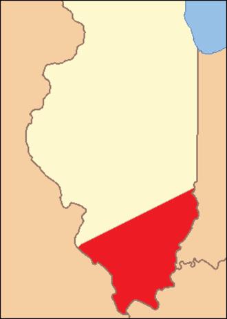 Randolph County, Illinois - Image: Randolph County Illinois 1809