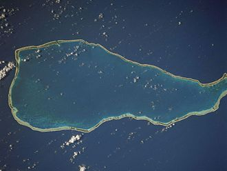 Rangiroa - NASA picture of Rangiroa Atoll