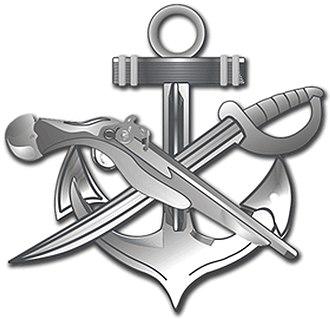 Special warfare combatant-craft crewmen - Image: Rating Badge SB