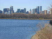 Vista de los rascacielos desde el Central Park