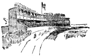 Recreation Park (Pittsburgh) - Newspaper sketch of Recreation Park, 1894