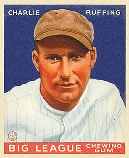 Red Ruffing American baseball player and coach