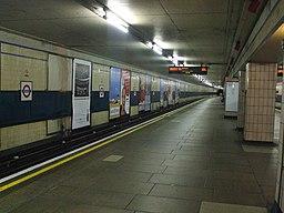 Redbridge station eastbound look east