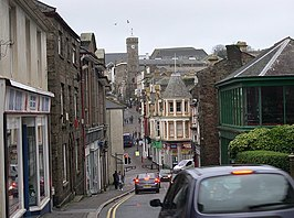 Centrum van Redruth