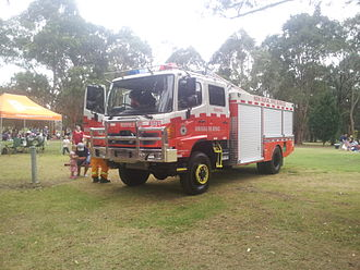 New South Wales Rural Fire Service - Current RFS Category 11 Pumper