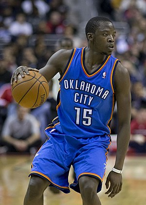 Reggie Jackson (basketball, born 1990) - Jackson with the Thunder in February 2014