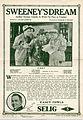 Release flier for SWEENEY'S DREAM, 1913.jpg