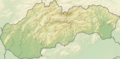 Relief Map of Slovakia.png